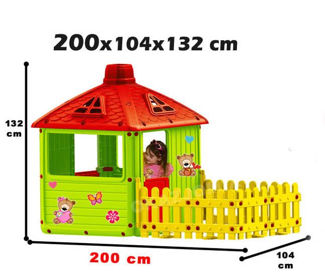 Zahradní domeček Mochtoys D64