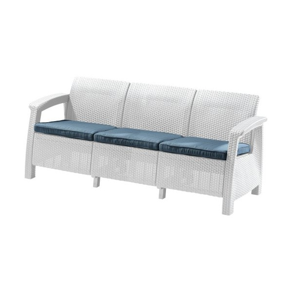 CORFU LOVE SEAT MAX white