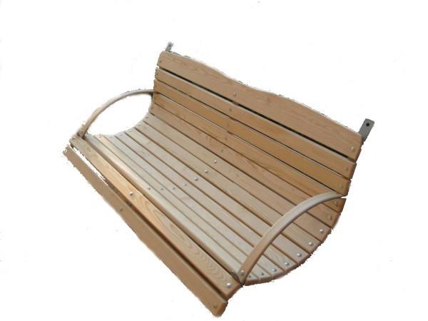 Dřevěná lavice houpačky k zavěšení -120 cm