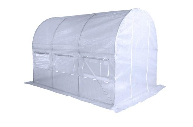 Zahradní skleník, foliovník 2,5x4m - 10m2 galvanizovaný