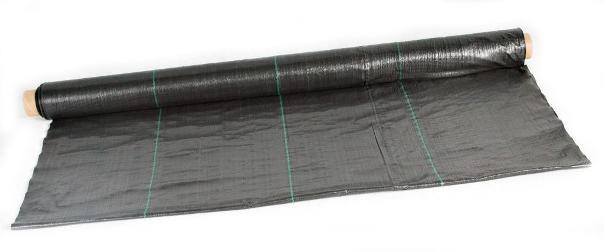 JUTA Tkaná mulčovací textilie,černá tkanina 70g/m2 1,6 x 50m