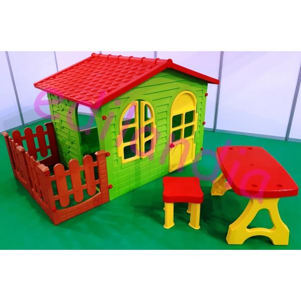 Zahradní domeček Mochtoys set