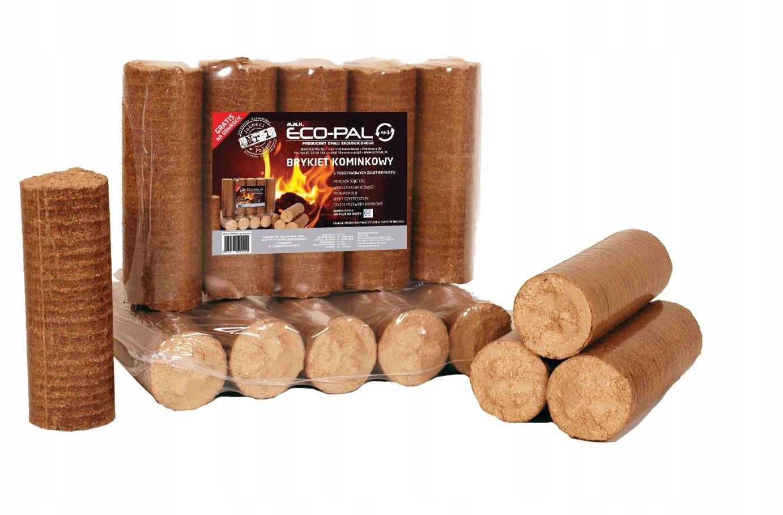 Dřevěné brikety ECO-PAL - ECOMAX 6kg