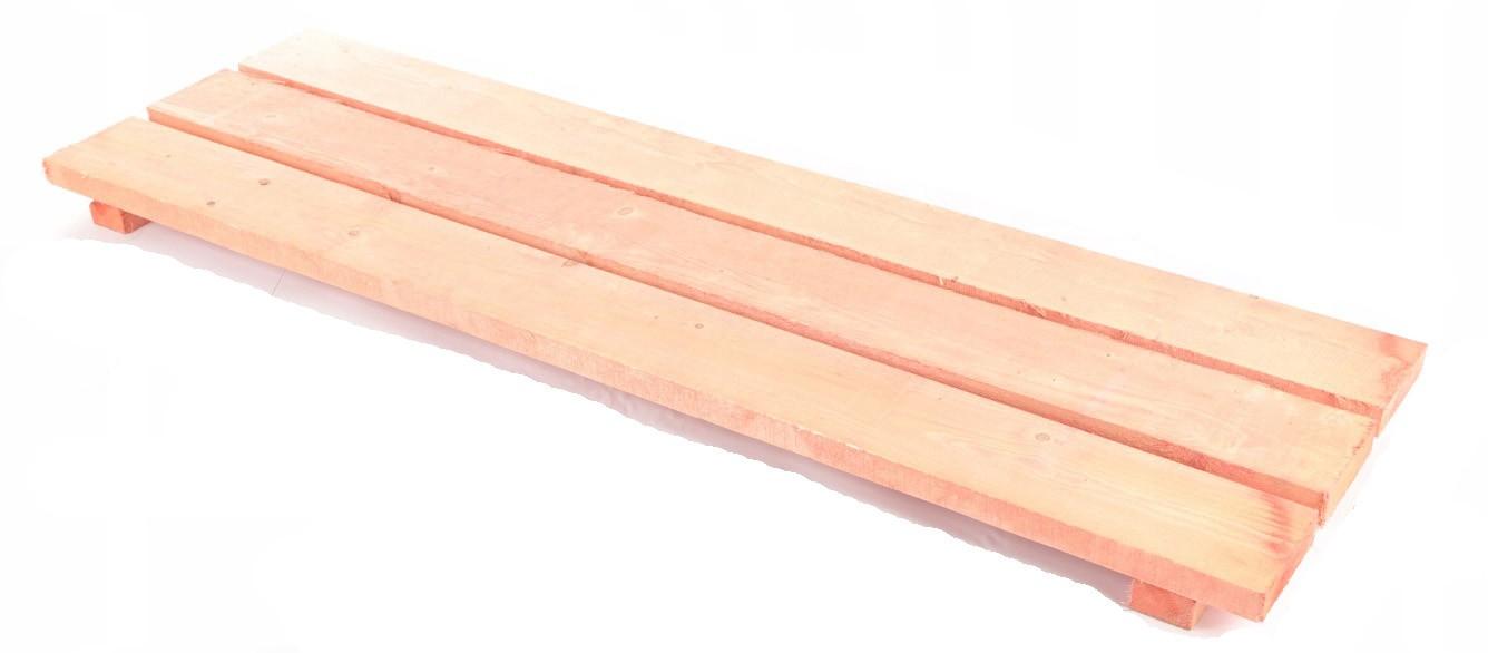 Dřevěná plošina Varšavského lešení