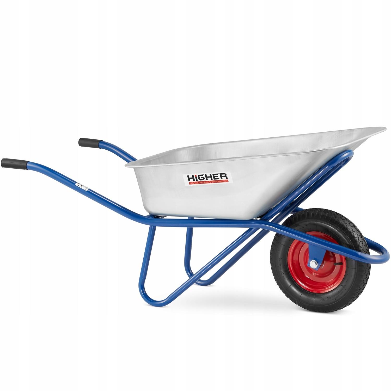 Stavební kolečko HIGHER 130 litrů s nosností 210 kg