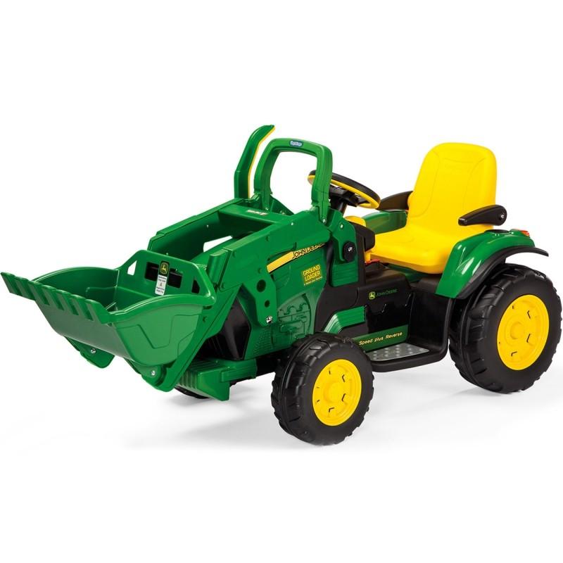 Peg Perego dětský elektrický traktor Power Pull
