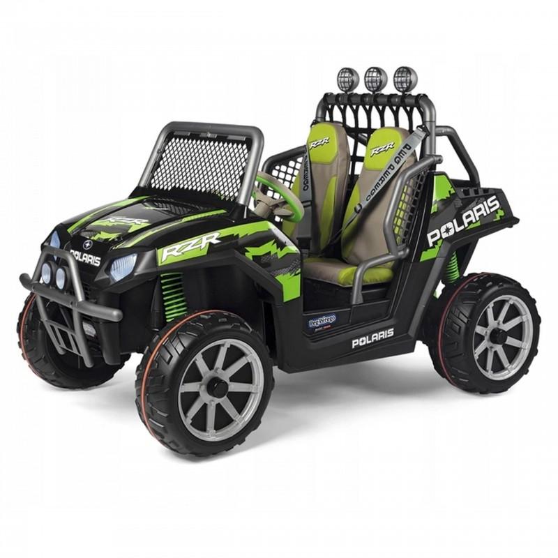 Peg Perego Dětské elektrické auto Polaris Ranger RZR Green Shadow