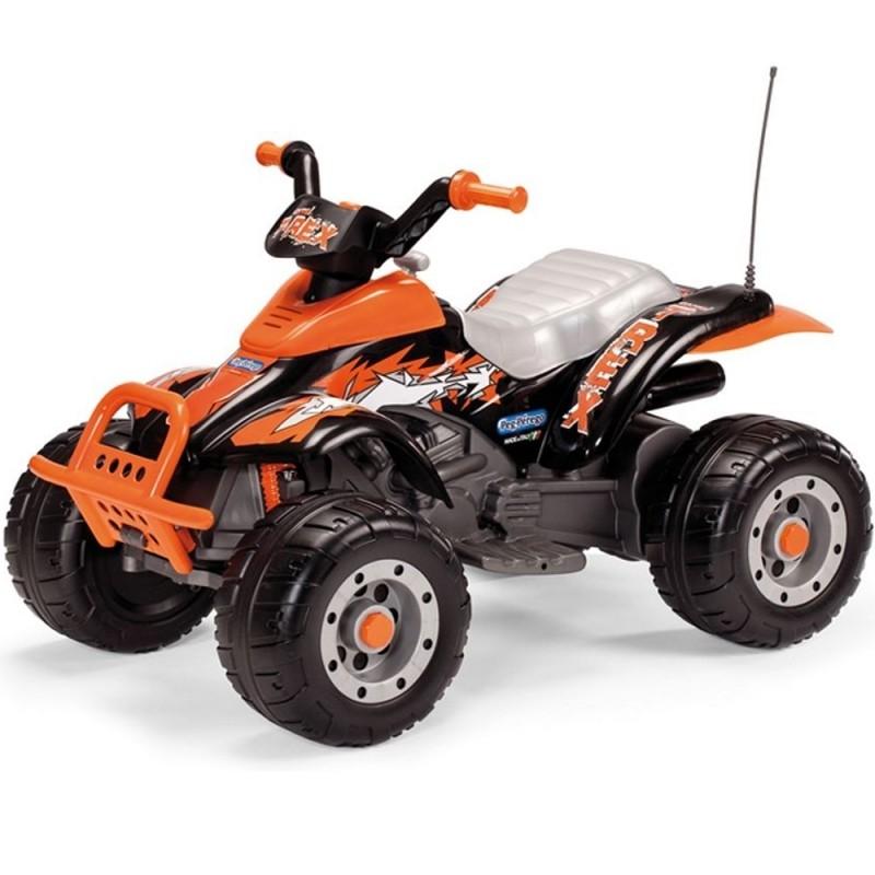 Peg Perego Dětské elektrické auto Corral T-Rex oranžový