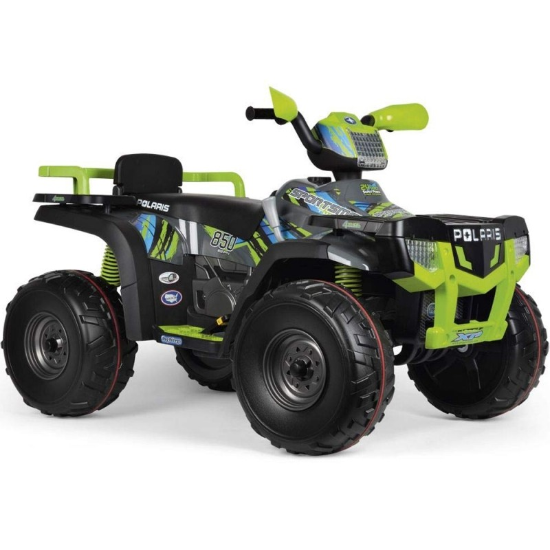 Peg Perego Dětské elektrické auto Polaris Sportsman 850 Lime