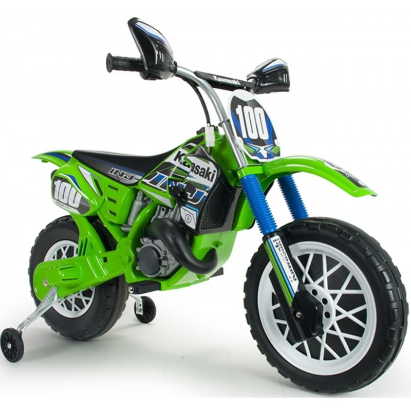 Injusa Elektrická motorka Kawasaki Cross 6V