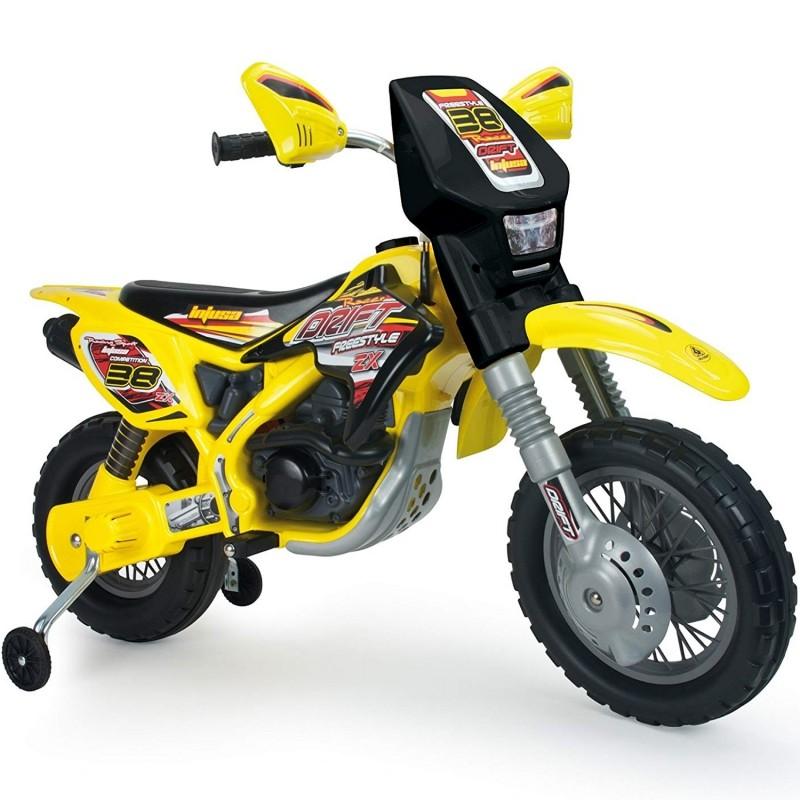 Injusa Motorka elektrický Cross Drift Thunder Max 12V