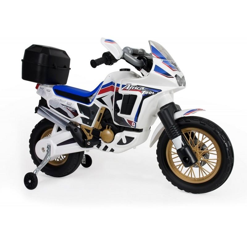 Injusa Motorka elektrický Honda Africa Bílý 6V