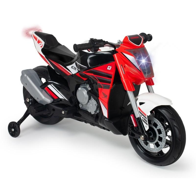 Injusa elektrická motorka Honda 12V s MP3 a svetlo