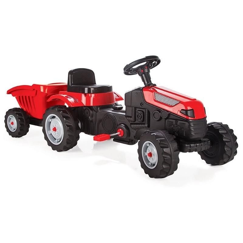 WOOPIE Šlapací traktor Maxi s přívěsem