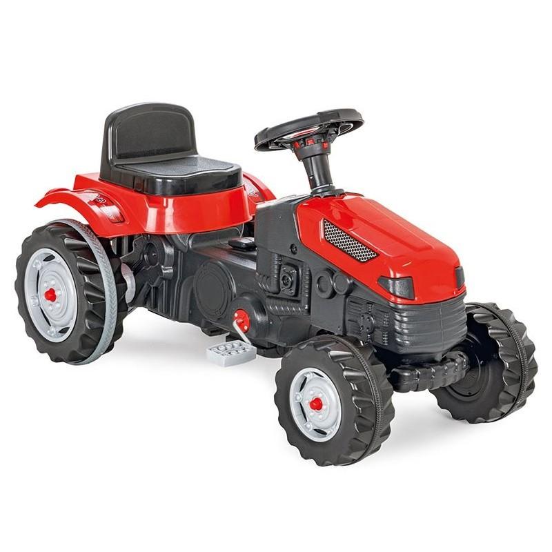 Woopie Šlapací traktor Červený