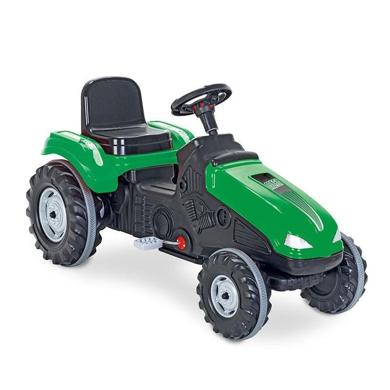 Woopie Šlapací traktor Mega zelený