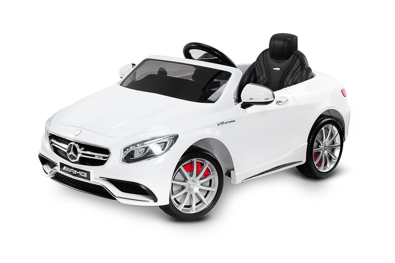 TOYZ elektrické auto Mercedes-Benz S63 AMG bílá