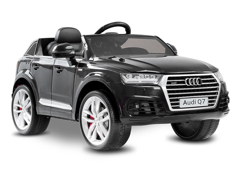Toyz elektrické autíčko Audi Q7-2 motory černá