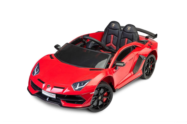 Toyz elektrické autíčko Lamborghini Aventador červené
