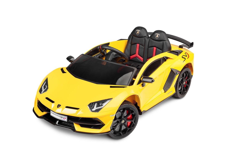 Toyz elektrické autíčko Lamborghini Aventador žluté