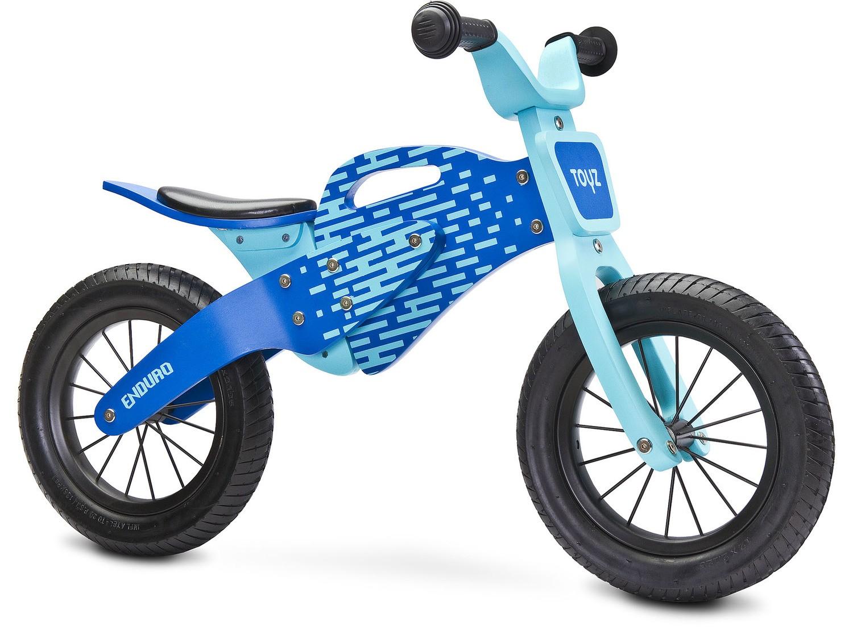 Dětské odrážedlo kolo Toyz Enduro 2018 blue (barva modrá)