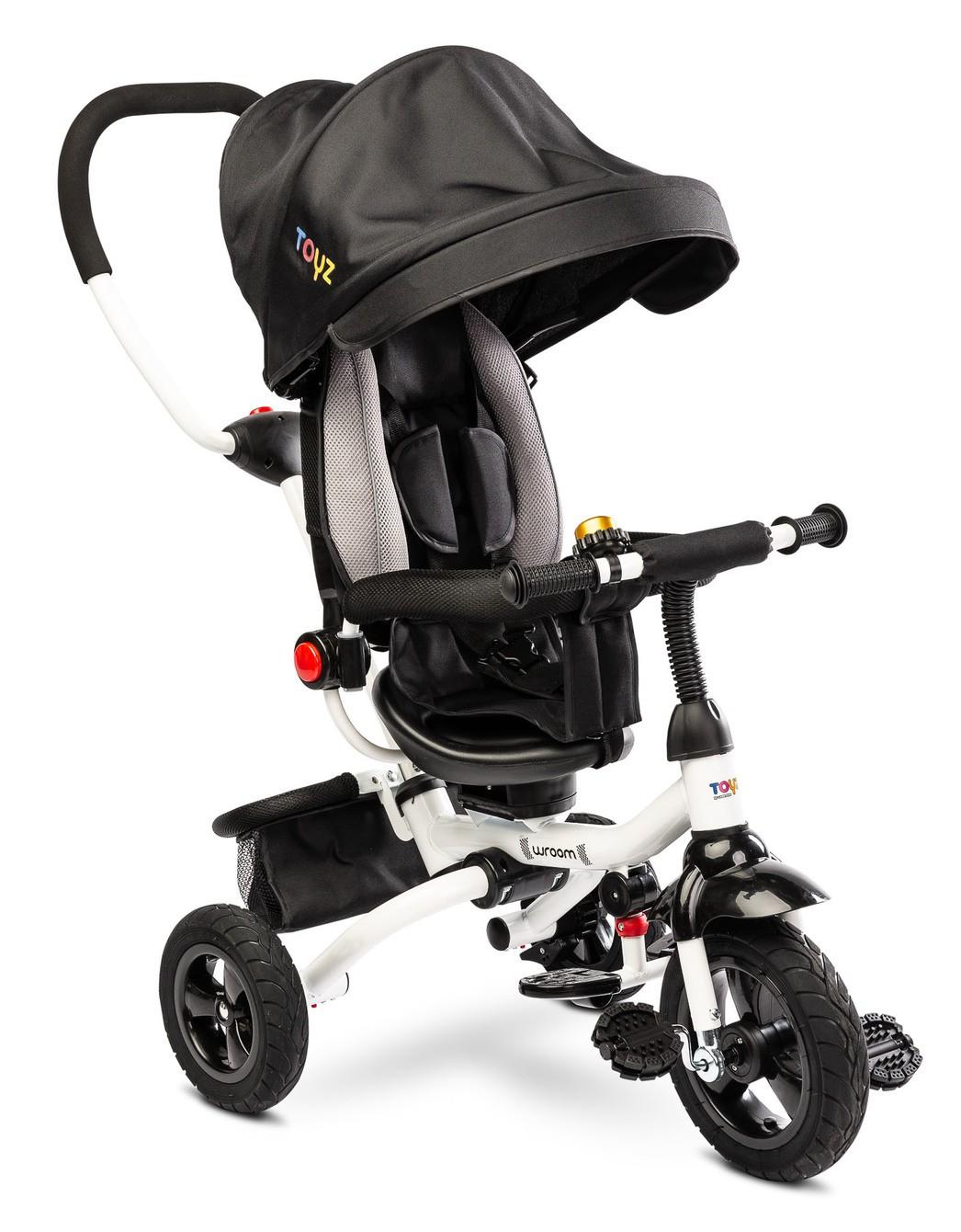 Dětská tříkolka Toyz WROOM black, (barva černá)