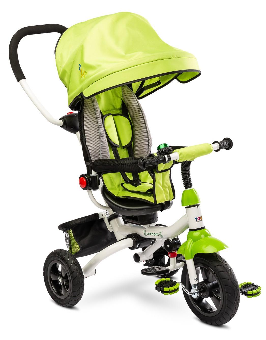Dětská tříkolka Toyz WROOM green, (barva zelená)
