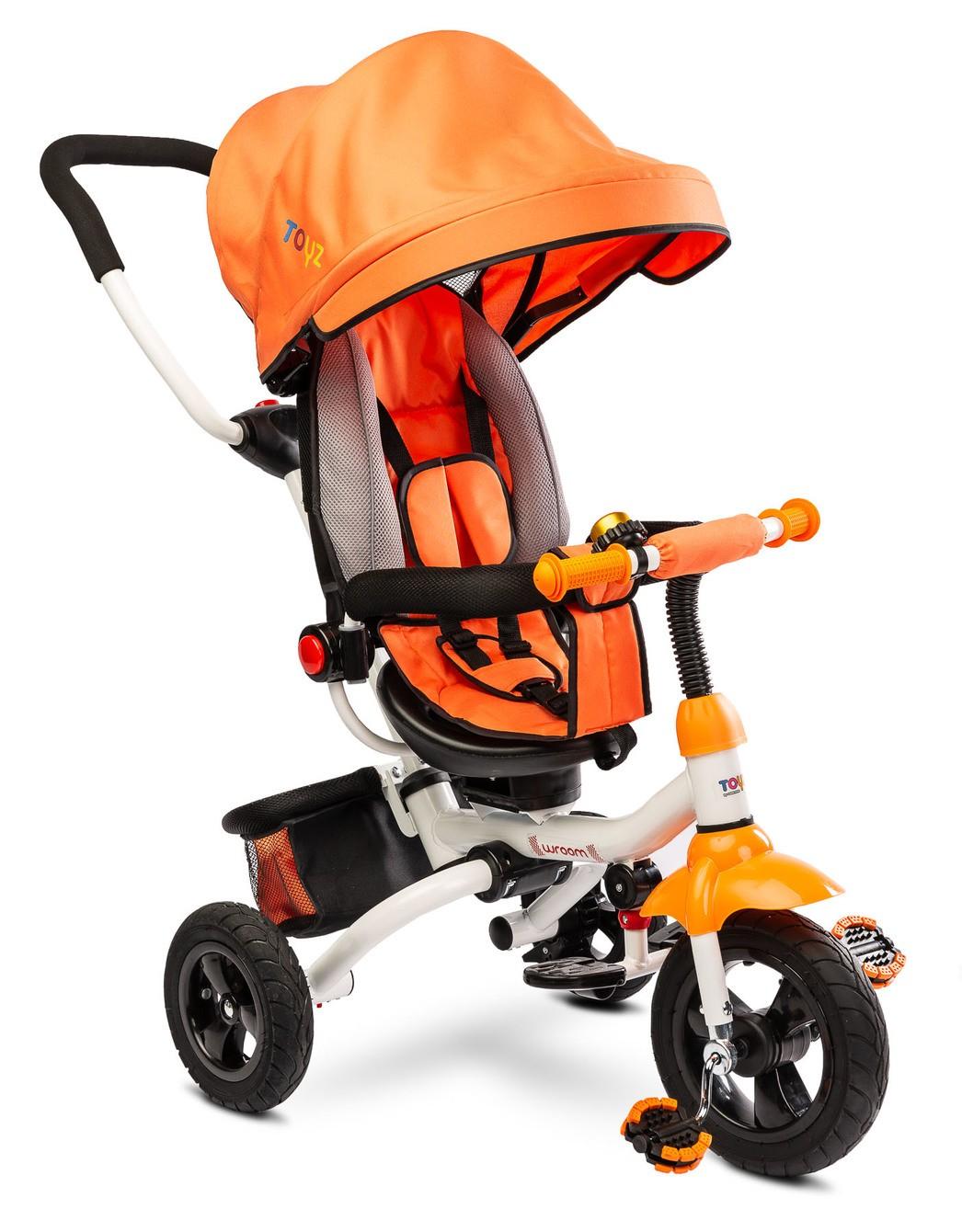 Dětská tříkolka Toyz WROOM orange, (barva oranžová)