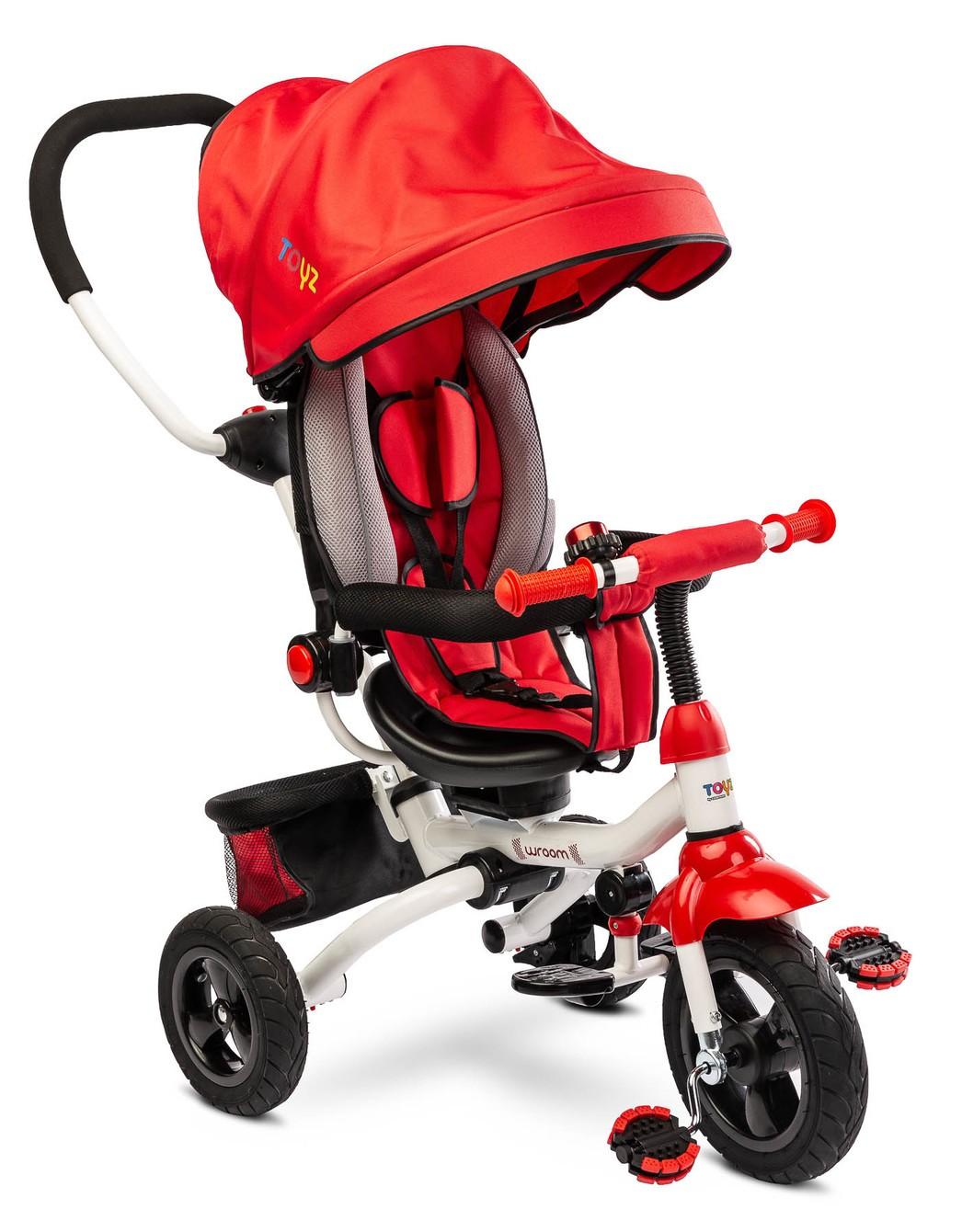 Dětská tříkolka Toyz WROOM red, (barva červená)