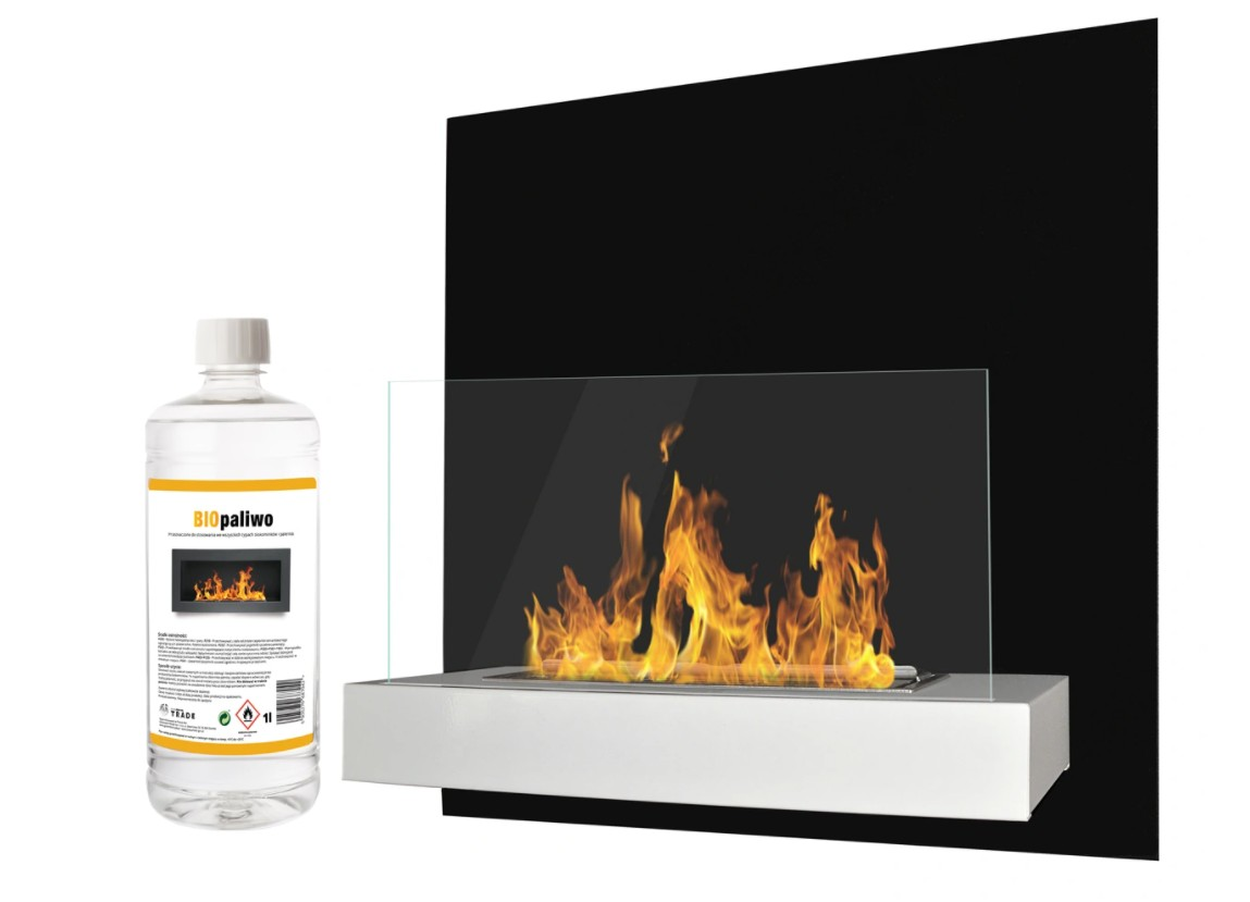 GNT Biokrb BOARD s ochranným sklem Černý a bílý