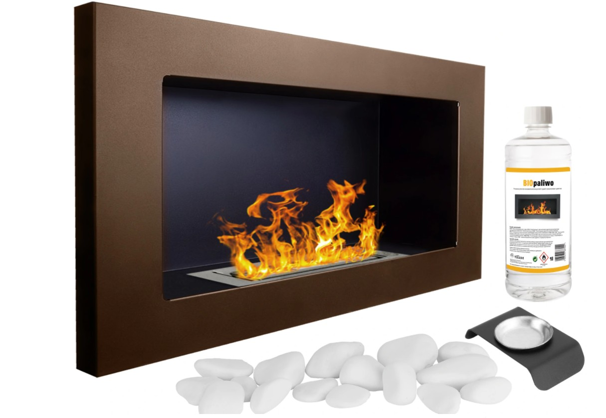 GNT Flame 650x400 tmavě hnědá
