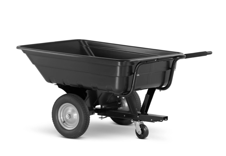 HIGHER Zahradní přepravní vozík 3v 1 290L