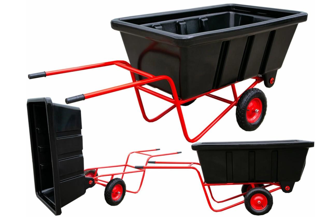 Přepravní vozík sklápěcí 500L