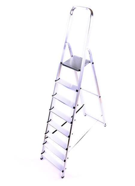 Schůdky 8 stupně jednostranné L-ALU-8 HIGHER